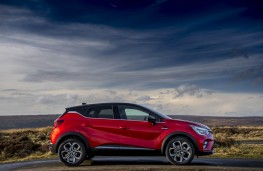 Renault Captur, side static